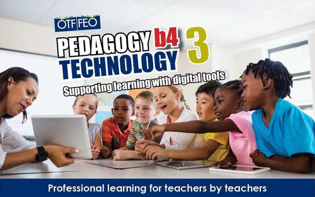 #PB4T3 Pedagogy B4 Technology 3 conference