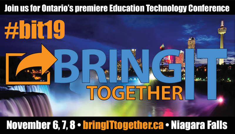 #BIT19 Bring IT, Together banner