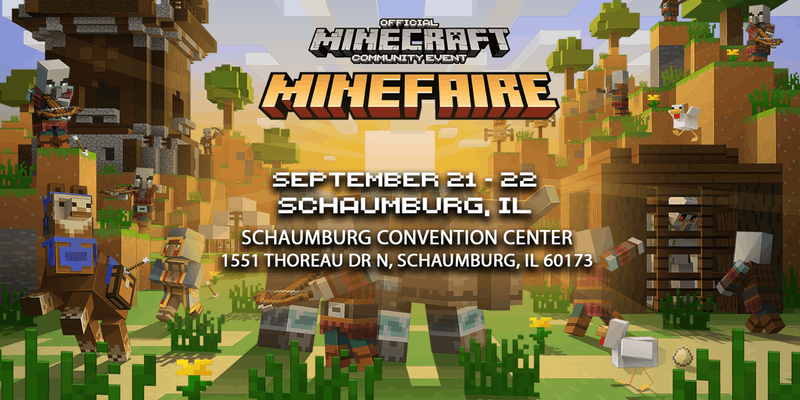 #Minefaire, Chicago, IL, Sept 21-22